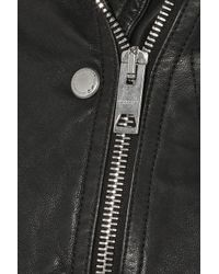 Burberry Prorsum - Black Quilted Leather Biker Jacket - Lyst