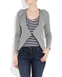 Duffy - Gray Zip Detail Jacket - Lyst
