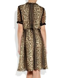 Jason Wu | Multicolor Okal Animal-print Silk-chiffon Dress | Lyst