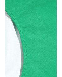 Violet Lake | Green Blush Bikini Briefs | Lyst