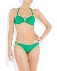 Violet Lake   Green Blush Bikini Briefs   Lyst