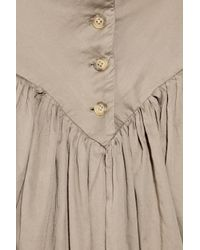 Vivienne Westwood Anglomania | Brown Monday Cotton Dress | Lyst