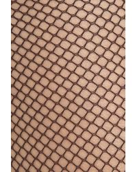 Wolford - Black Twenties Micro-fishnet Tights - Lyst