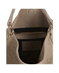 Alexander Wang - Natural Latte Pebbled Leather Darcy Studded Hobo - Lyst