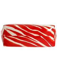 kate spade new york - Red Daycation Bon Shopper Zebra-print Tote - Lyst