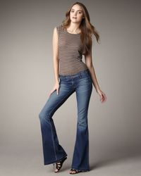 Elizabeth and James | Blue Jimi Juicebox Flare Jeans | Lyst