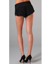 Kiki de Montparnasse - Black Amour Lounge Boy Shorts - Lyst