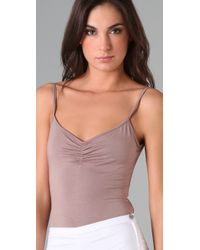 Rachel Pally | Brown Cami Bodysuit | Lyst