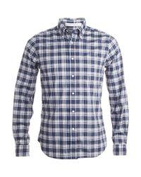 Gant - Blue The Hugger Shirt for Men - Lyst