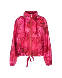 Moncler Gamme Rouge   Red Printed Jacket   Lyst