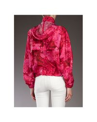Moncler Gamme Rouge   Purple Printed Jacket   Lyst