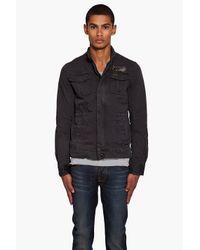 G-Star RAW | Black Longshore Jacket for Men | Lyst