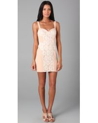 Rebecca Minkoff | Pink Claudia Dress | Lyst