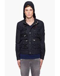 J.Lindeberg - Blue Virgil Ripstop Jacket for Men - Lyst