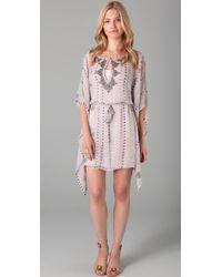 Twelfth Street Cynthia Vincent | Pink Flutter Caftan Dress | Lyst