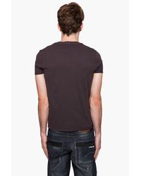 G-Star RAW | Brown Band R T-shirt for Men | Lyst