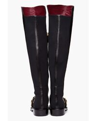 Marc By Marc Jacobs | Black Over The Knee Boot | Lyst