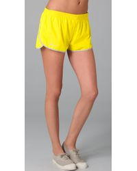 RLX Ralph Lauren - Yellow Running Shorts - Lyst