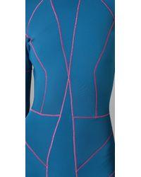 Cynthia Rowley - Blue Long Sleeve Wetsuit - Lyst