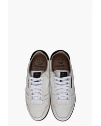 DIESEL - White Spin Sneakers for Men - Lyst