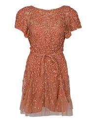 Eastland | Multicolor Floral Sequin Dress | Lyst
