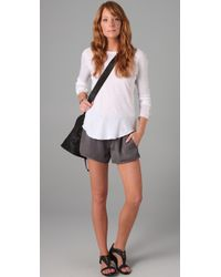 Enza Costa - White Long Sleeve Raglan - Lyst