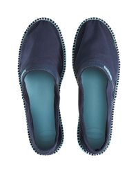 Havaianas - Blue Canvas Espadrille for Men - Lyst