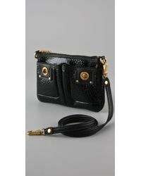 Marc By Marc Jacobs - Black Totally Turnlock Percy Crossbody Bag - Lyst