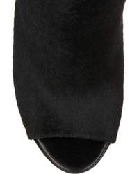 Reed Krakoff | Black Metal-heel Calf-hair Mules | Lyst