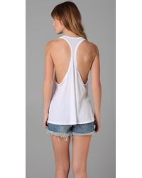 Wildfox | White Dream Weaver Tank | Lyst