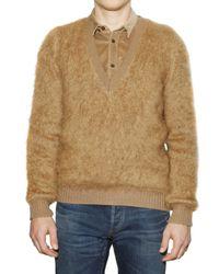 Burberry Prorsum | Natural Mohair Sweater for Men | Lyst