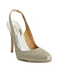 Badgley Mischka | Metallic Kiss Kiss - Gold | Lyst
