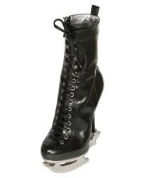DSquared² | Black 160mm Calf Laced Ice Skate Boots | Lyst