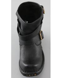 Jeffrey Campbell - Black Rouges Wrap Strap Booties - Lyst