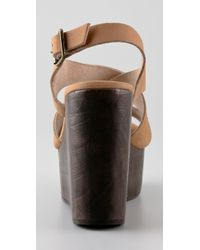 Joie - Natural Windy Wedge Sandals - Lyst