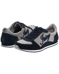 Juicy Couture - Gray Bosley - Regal Navy Suede Sneaker - Lyst