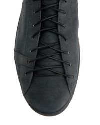 Rag & Bone   Black Leather Sneakers for Men   Lyst