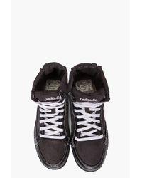 DIESEL | Black Whoop Boots for Men | Lyst