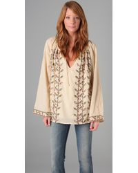 Winter Kate - Natural Sea Turtle Tunic - Lyst