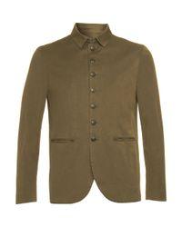John Varvatos | Green Multi-button Jacket for Men | Lyst