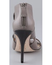Kors by Michael Kors | Gray Sonoma High Heel Sandals | Lyst