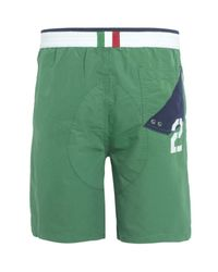 Polo Ralph Lauren | Green France Ocean Race Trunks for Men | Lyst