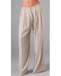 Robert Rodriguez | White Wide Leg Pants | Lyst
