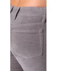 Sass & Bide | Gray Change Of View Corduroy Pants | Lyst