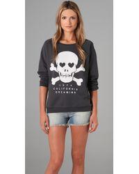 Zoe Karssen | Gray Dreaming Skull Sweatshirt | Lyst