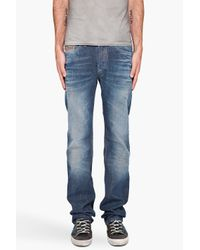 DIESEL | Blue Viker 880n Jeans for Men | Lyst