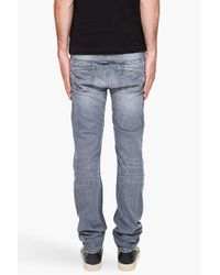 DIESEL | Gray Thanaz 8qp Jeans for Men | Lyst