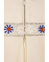 Paul & Joe - Multicolor Chatvif Beaded Linen-blend Dress - Lyst