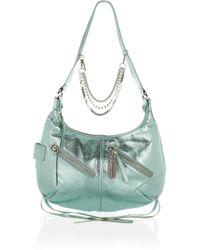 Sonia Rykiel | Metallic-leather Shoulder Bag | Lyst