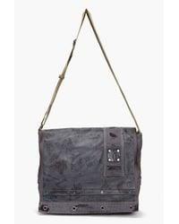 DIESEL   Blue Briber Messenger Bag for Men   Lyst